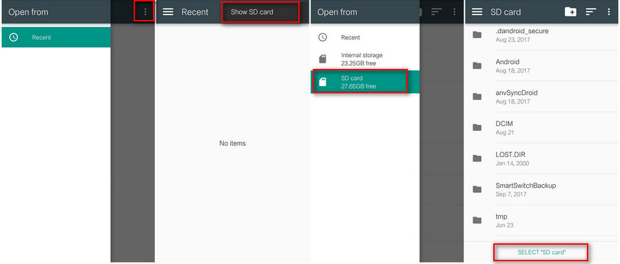 How to Authorize Syncios App to Write Externl SD Card on Android 5 0