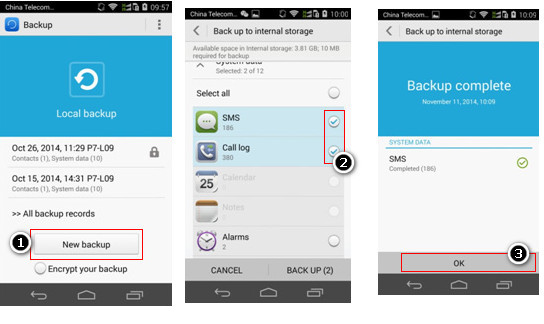 How To Backup And Restore Huawei P8