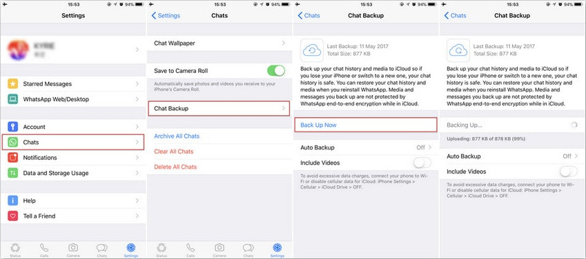 Best 4 Ways to Backup and Restore WhatsApp Messages on