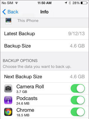 recover deleted photos from iCloud backup file