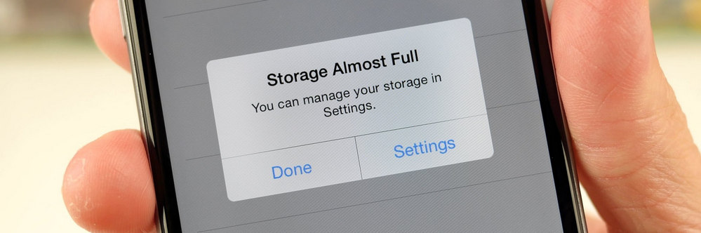 clear iphone storage