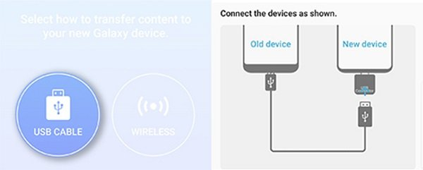connect iPhone and Samsung Galaxy S9