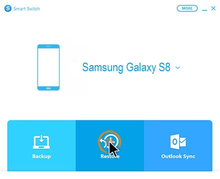 connect Samsung Galaxy S8 to smart switch