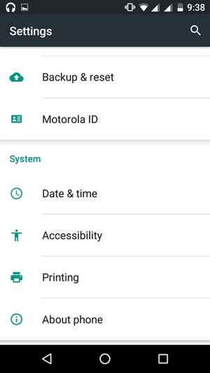 How to enable Developer Options and USB debugging on Motorola Moto G