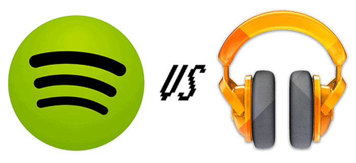 Google Play Music Vs  Spotify - compare Spotify with Google