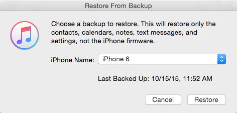 how to restore backup iphone how to extract and restore contacts from itunes backup 17238