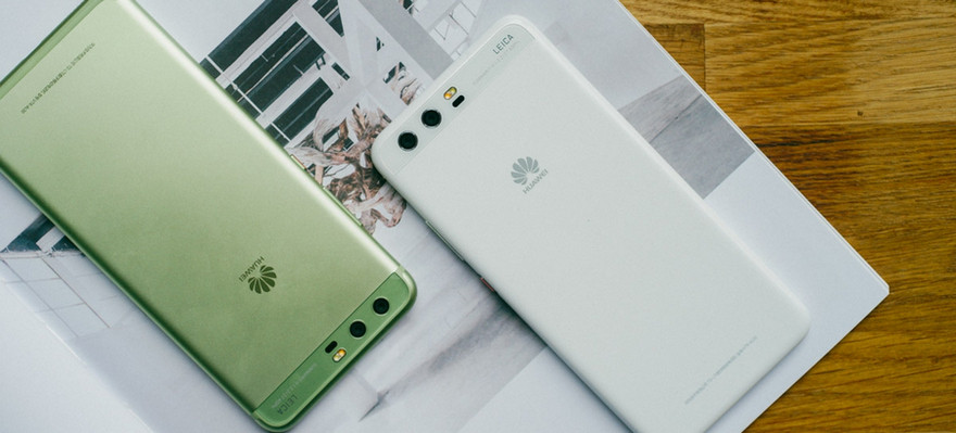 Huawei P10 contacts