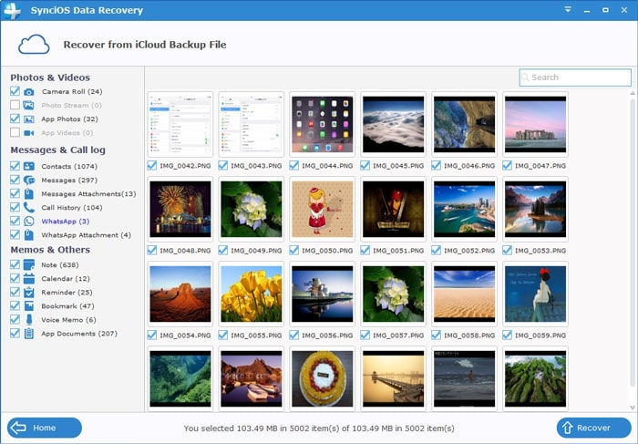Restore Your iPhone photos from iCloud