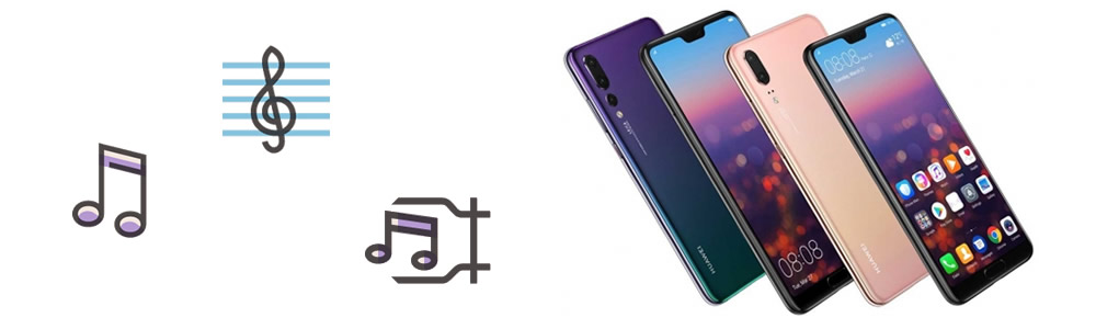 import music to huawei p20