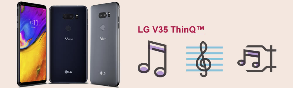 import music to lg v35
