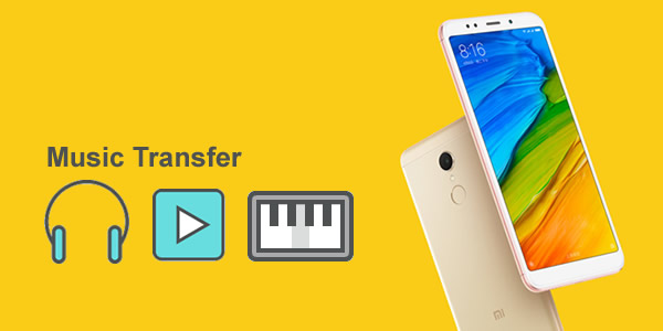 import music to xiaomi redmi 5 image