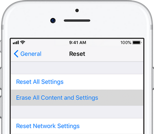 Hard Reset Directly from the iPhone