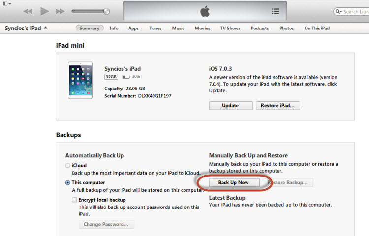 how to  old itunes software