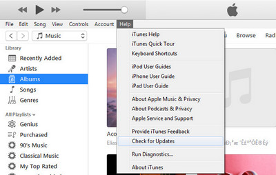 Update iTunes to Latest Version