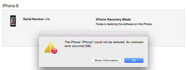 Top 6 Solutions to Fix iTunes Error 56