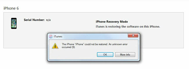 iphone could not be restored error 3194 top 6 solutions to fix itunes error 9 syncios 5660