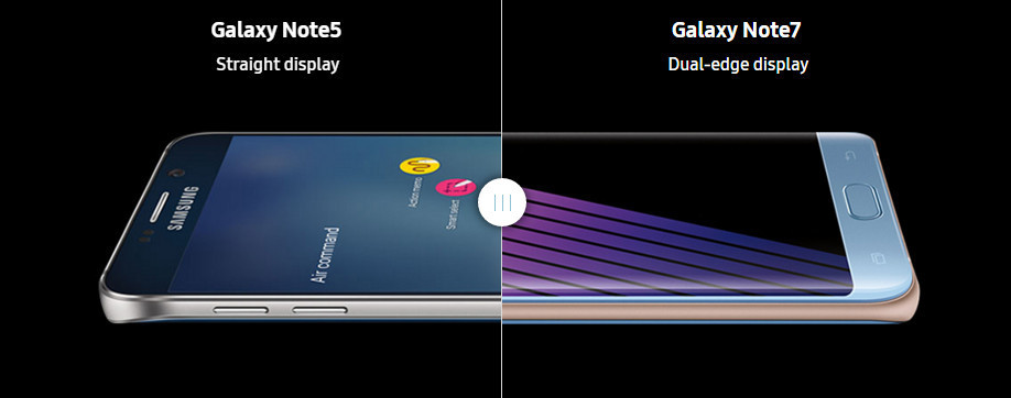 samsung note 7 vs note 5
