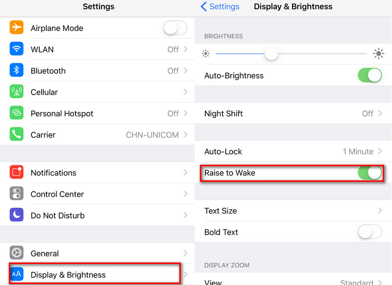 How do i turn off auto brightness on iphone 7 plus 3
