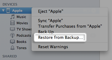 how to delete synced photos from iphone with itunes