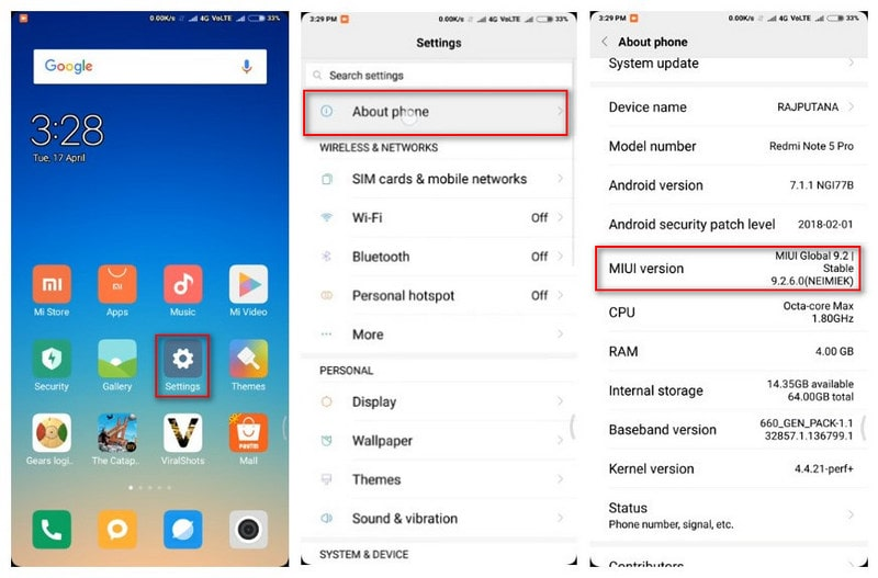 How to Enable Developer Options and USB debugging on Xiaomi