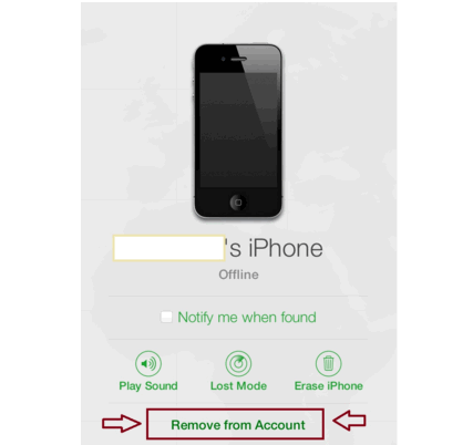 how to remove iphone from find my iphone 3 ways to restore iphone without turning of find my iphone 20963