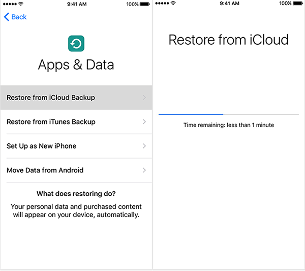 How to restore iphone 7 from icloud backup restore iphone 7 from icloud backup stopboris Gallery