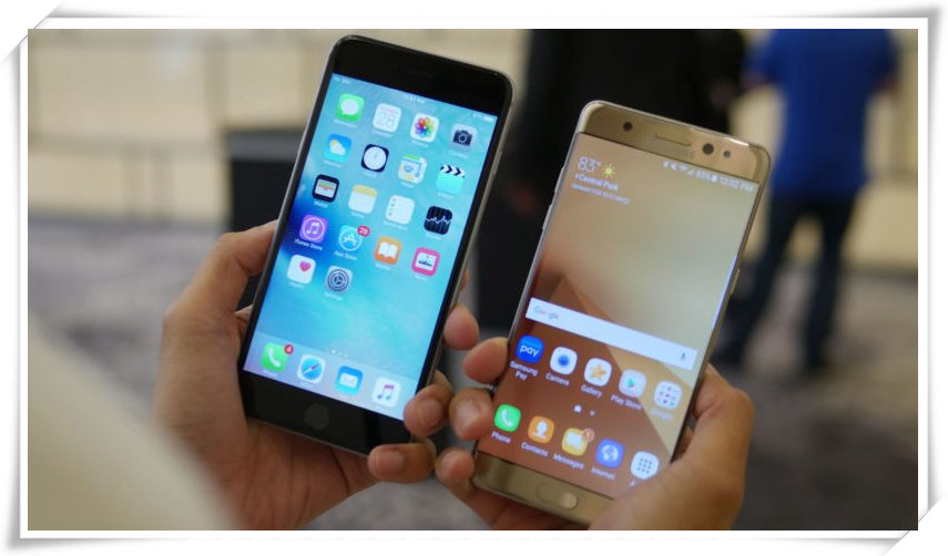 samsung galaxy note 7 to iPhone 7
