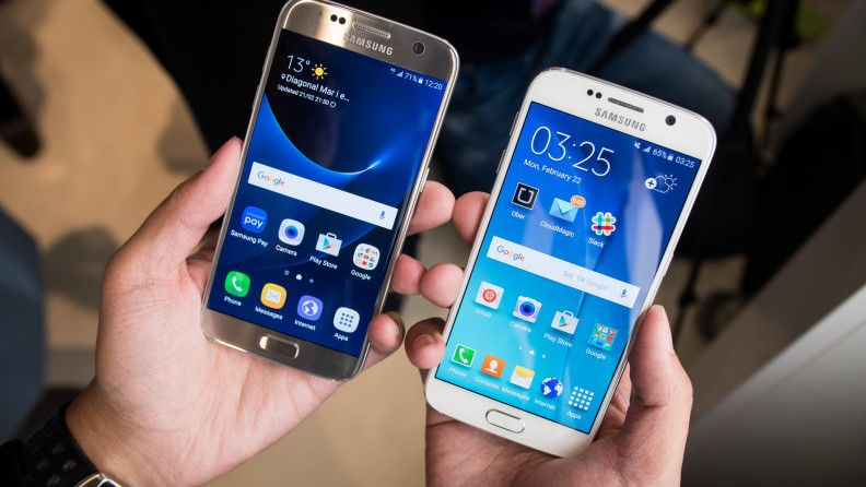 Samsung Galaxy s6 vs Samsung Galaxy s7