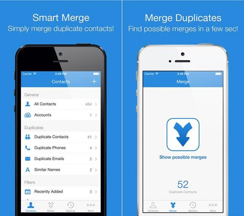 smart merger dulicate iphone app