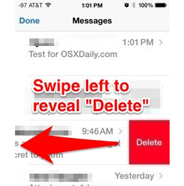 How to Delete/Clear/Recover iPhone messages
