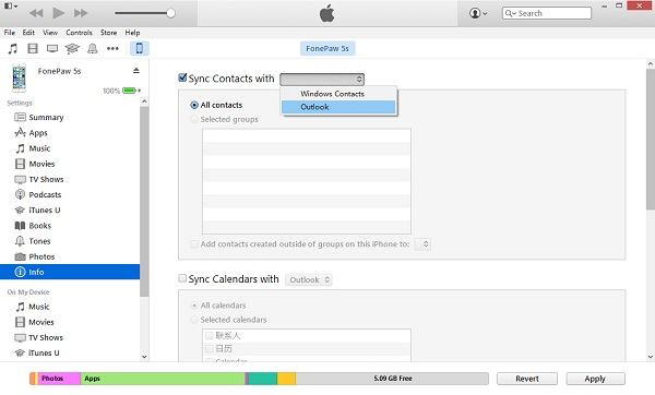 export contacts from iphone 4 ways to transfer iphone contacts to outlook 14056