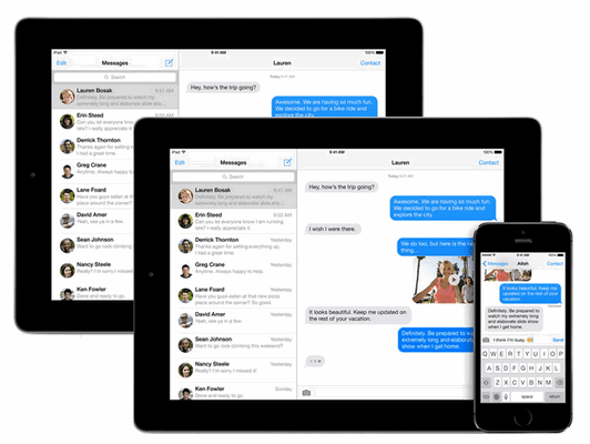 Sync iMessages History From iPad to iPad