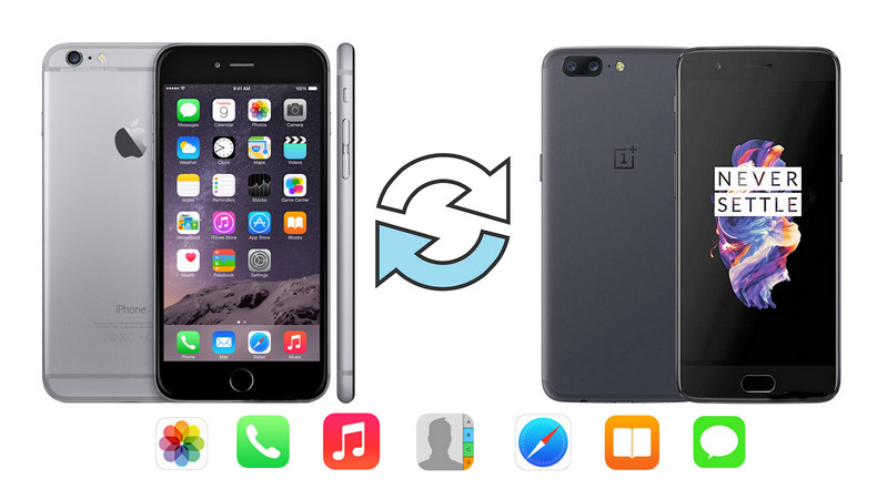 iPhone to OnePlus 5