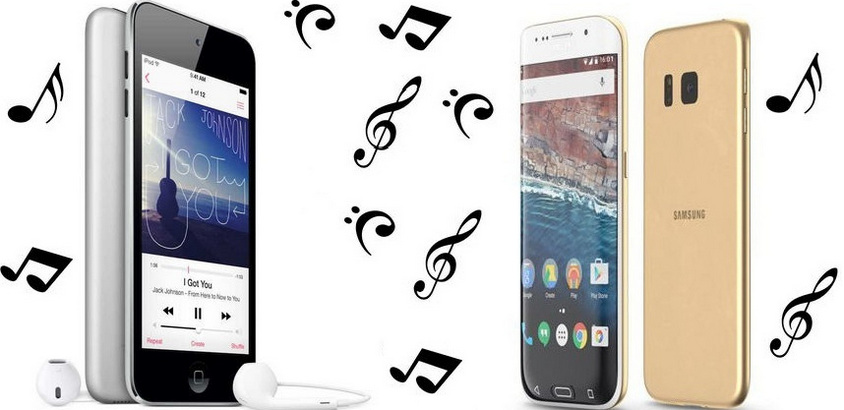 sync ipod misic with Samsung Galaxy S7