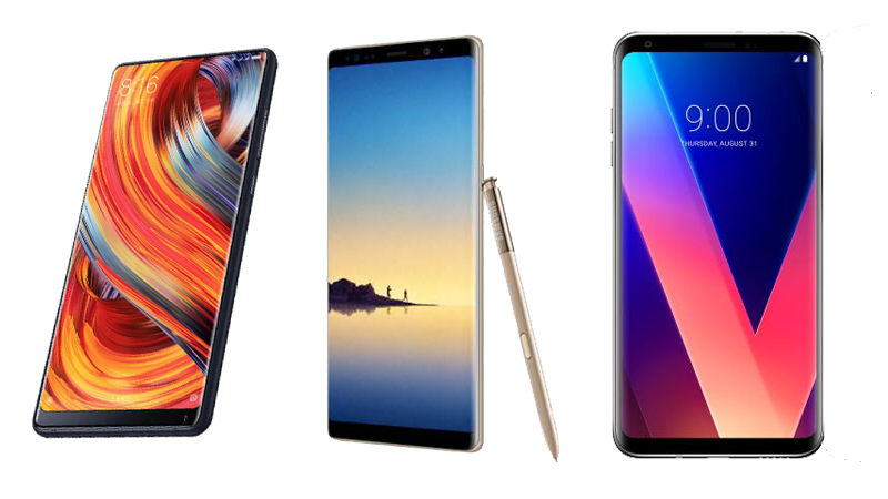Samsung and Xiaomi Mi Mix 2