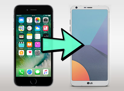 transfer iphone to lg g6 image