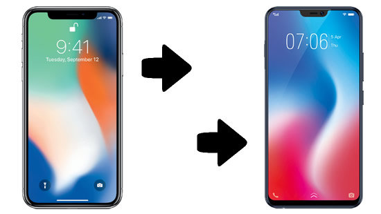 iphone to vivo v9