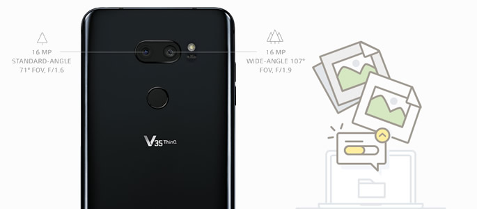 transfer lg v35 photos to computer