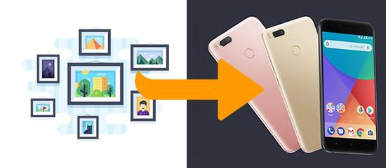 How to Transfer Photos to Xiaomi Mi A1 - Syncios