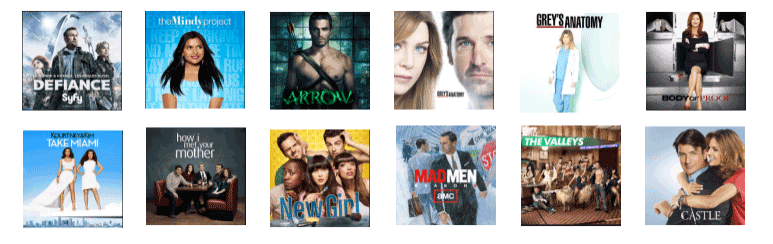 iTunes Store Top 10 TV Shows