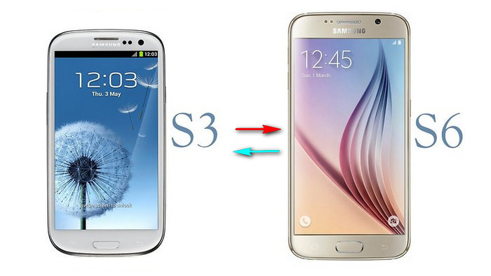Samsung Galaxy s3 to Samsung Galaxy s6