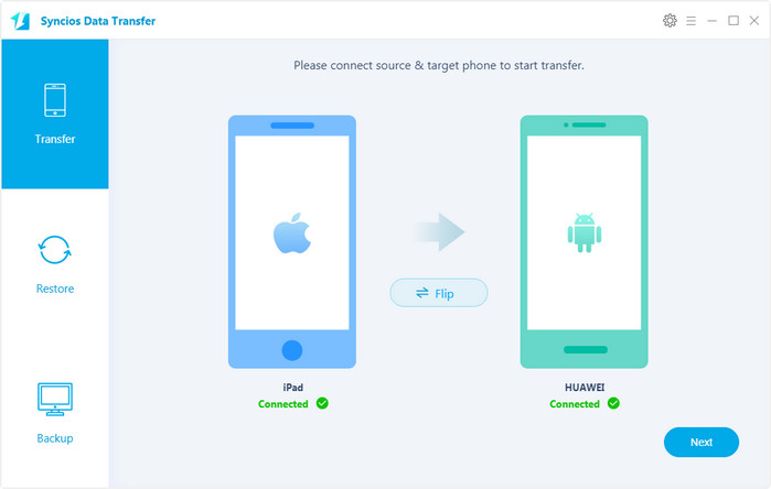 iPhone to Android Phone transfer
