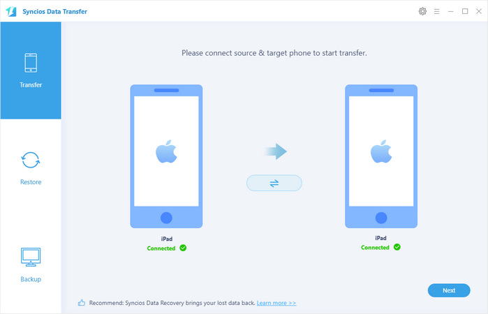 iPad to iPad Transfer | Transfer data from old iPad to new