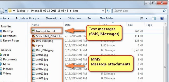 view iphone messages on pc how to backup iphone sms to your computer safely 1824