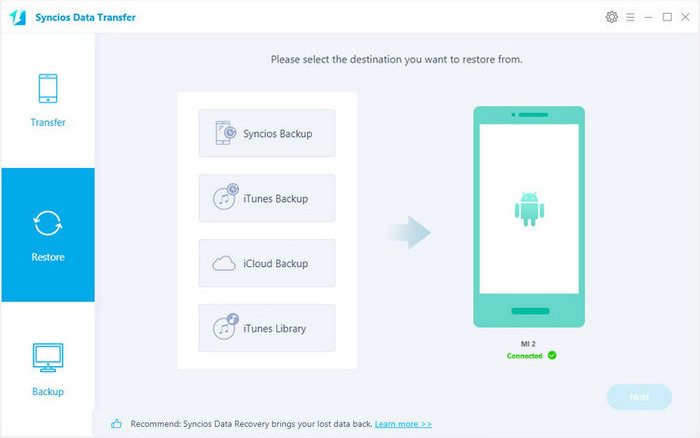 How to Backup and Restore Data on Xiaomi Mi 4/3/2 | Backup & Restore