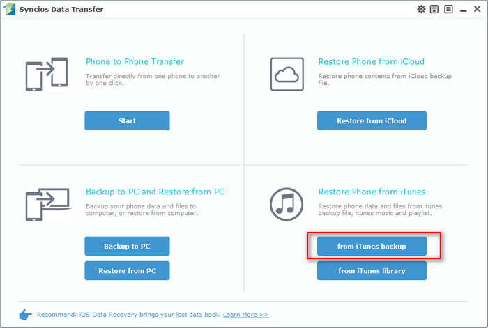 itunes text messages Transfer