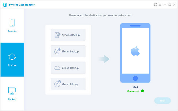 iPad Restore Tool: Restore iPad without iTunes