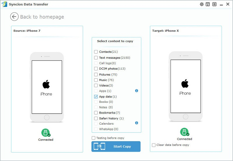 Copy App Data From One Iphone To Another