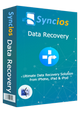 Product box of syncios iPhone iPad data recovery