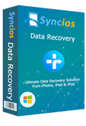 Product box of syncios data recovery windows